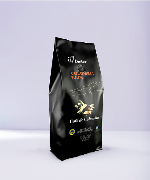 "1Kg Bohnenkaffee Or´Doñez ""Colombia 100%"" UTZ"