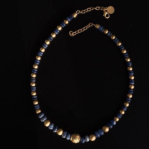Halskette CL1952 mit Sodalith