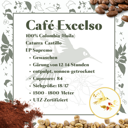 Café Excelso 100% Colombia - Huila
