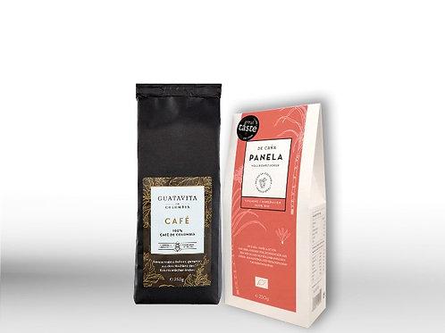 KAFFEE GEMAHLEN + PANELA
