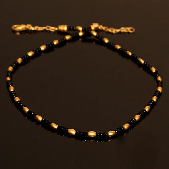 Halskette CL1716 mit Onyx
