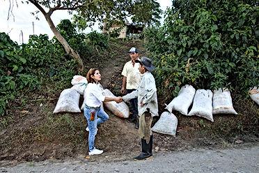 Besuch auf einer der Kaffee-Haziendas imKaffee-Dreieck Kolumbiens