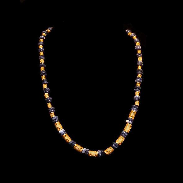 Halskette CL1976 mit Sodalith