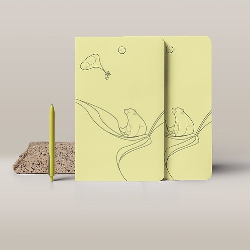 Vincent the Bear - A5 Notebook