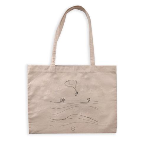 Always with Me - Organic Cotton Shopper Bag