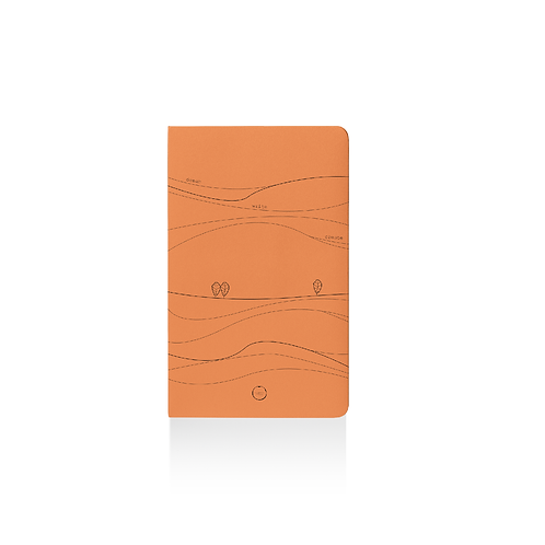 My Rolling Hills Notebook A5