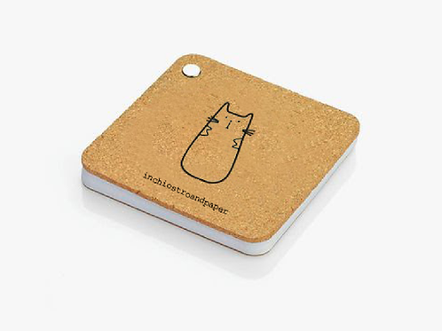A cup of tea - notepad coaster
