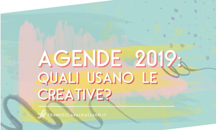 agende creative, agenda 2019