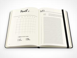 bullet journal, bujo, monthly spread