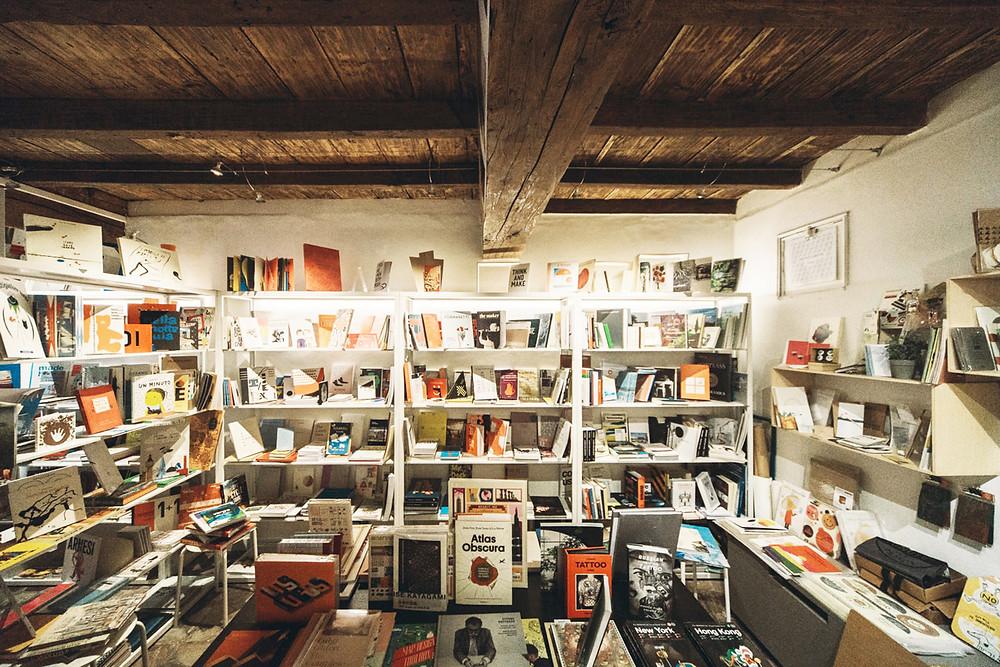 Torino, libreria, cartoleria italiana, inchiostro and paper, agenda 2019, planner 2019, made in italy
