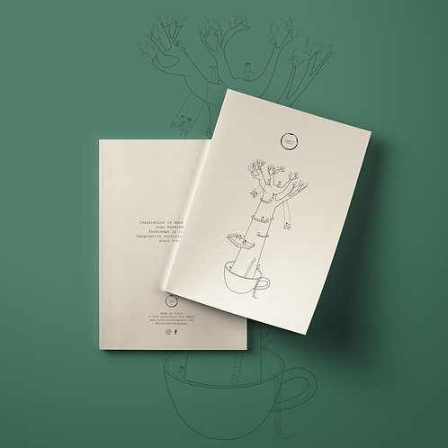 TEA TREE Notebook / Journal