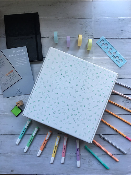 NEW  Bullet Journal BOX - inchiostro and paper