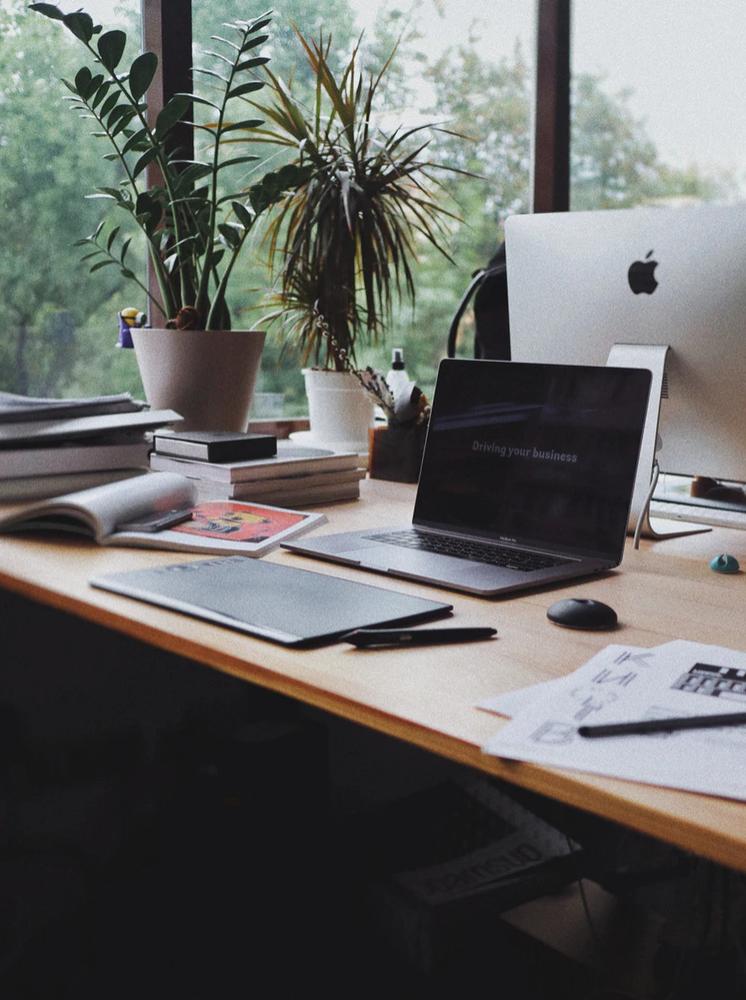 desk planner, desk setup, productivity