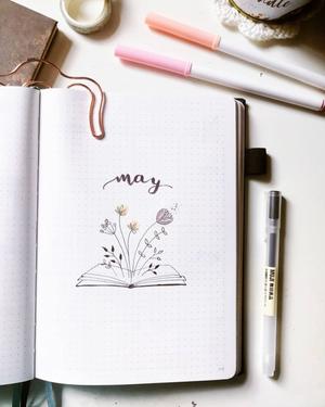 Il Bullet Journal della nostra MaryManiCreative