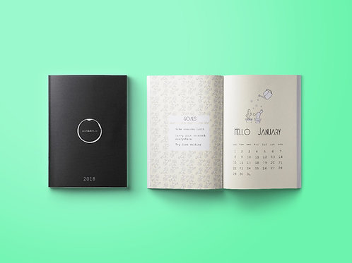 inchiostro. Agenda 2018 Original