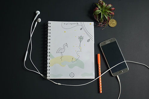 Imagine Ring  Notebook - A5