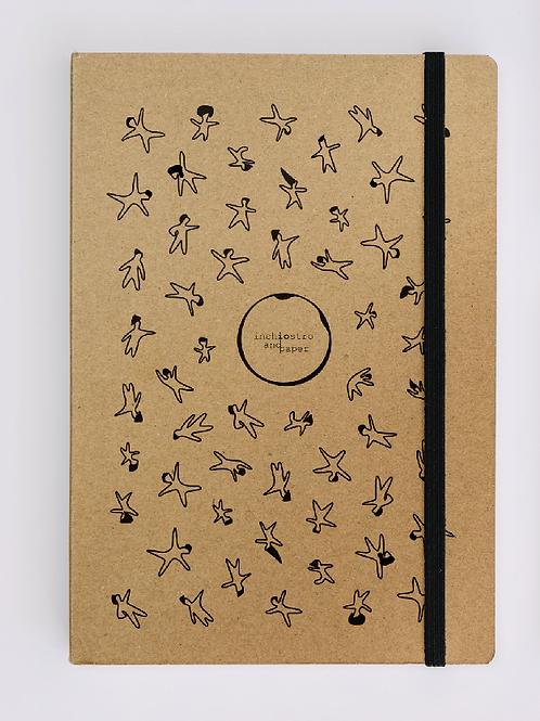It's Raining Men Stone Paper - A5 Notebook