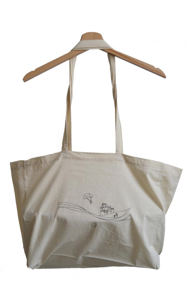 tote bag, organic cotton tote bag, shopper bag