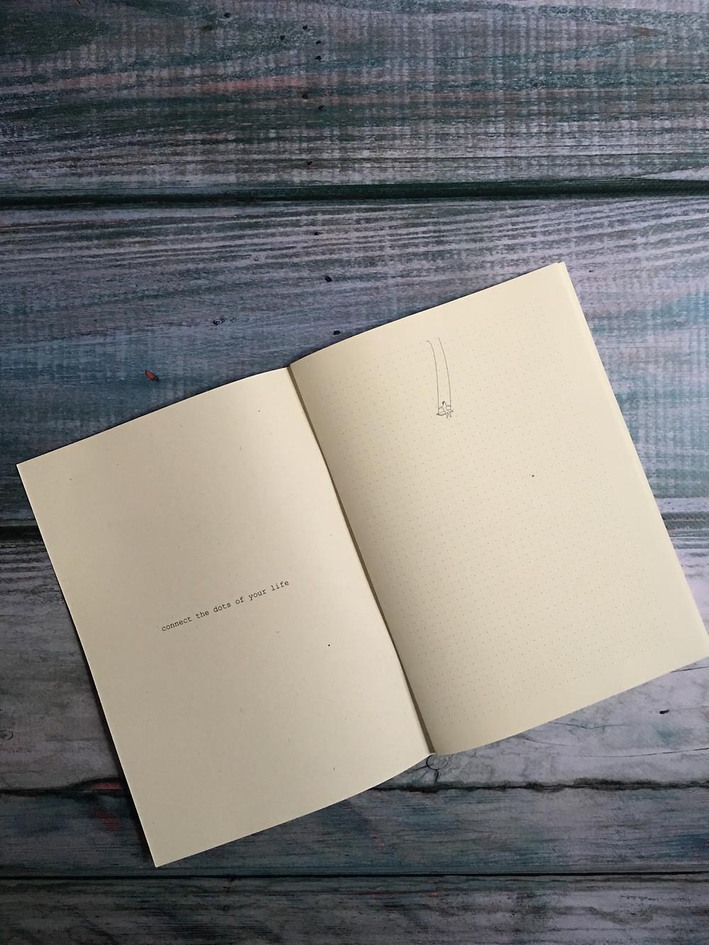 bullet journal quaderno