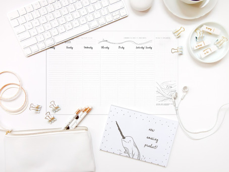 No more Post-it: 10 reasons why you need a desk planner