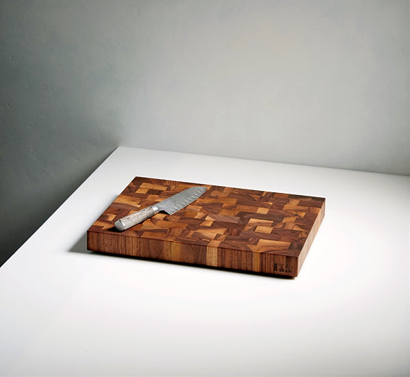 Walnut End Grain 14x18x2'' Noyer en bois de bout