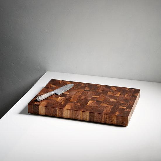 Walnut End Grain 16x22'' Noyer en bois de bout