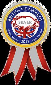 2017 British Pie Awards Silver Medal