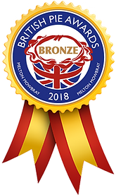 2018 British Pie Awards Bronze Medal