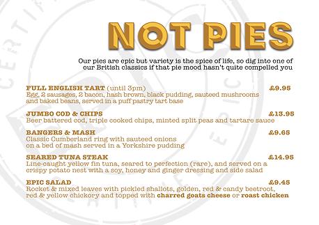 Not Pies
