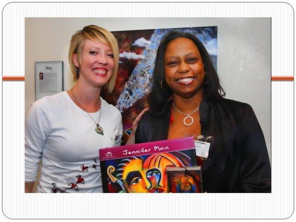Jennifer Main & CEO 2009.jpg