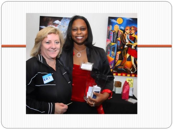 Very first Mixer - Jennifer Main Art Gallery 2009