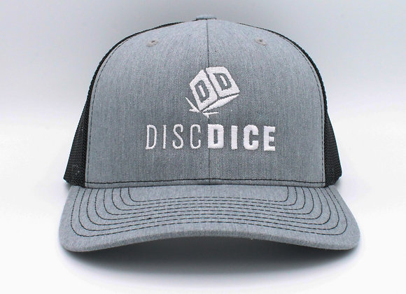 DiscDice Stacked Trucker Hat