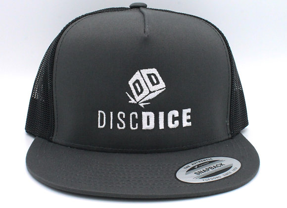 DiscDice Stacked Flatbill Hat