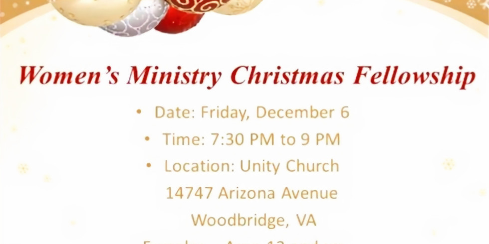 Women's Ministry Christmas Fellowship