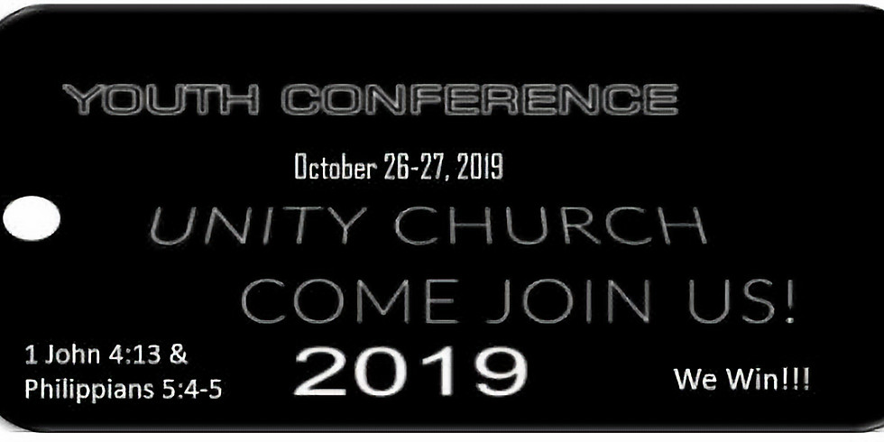Youth Conference 2019... We Win!!