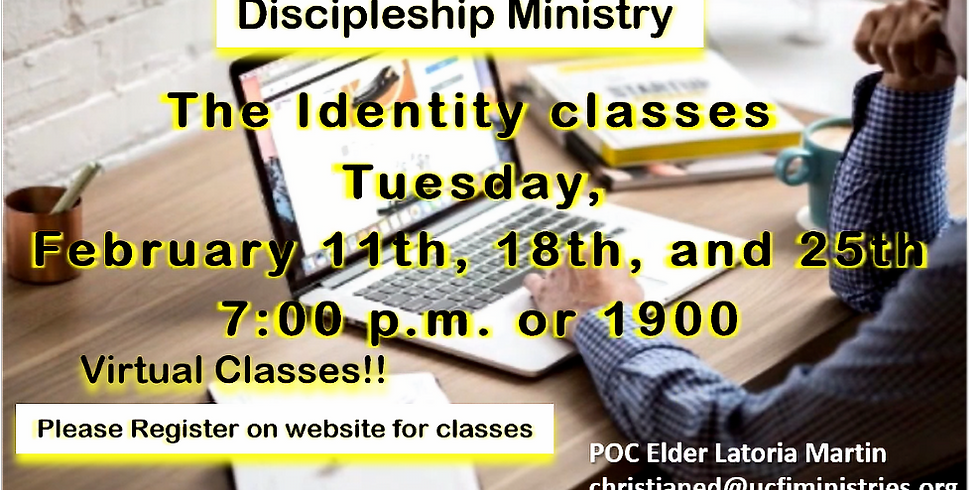 Discipleship Ministry's Identity Course