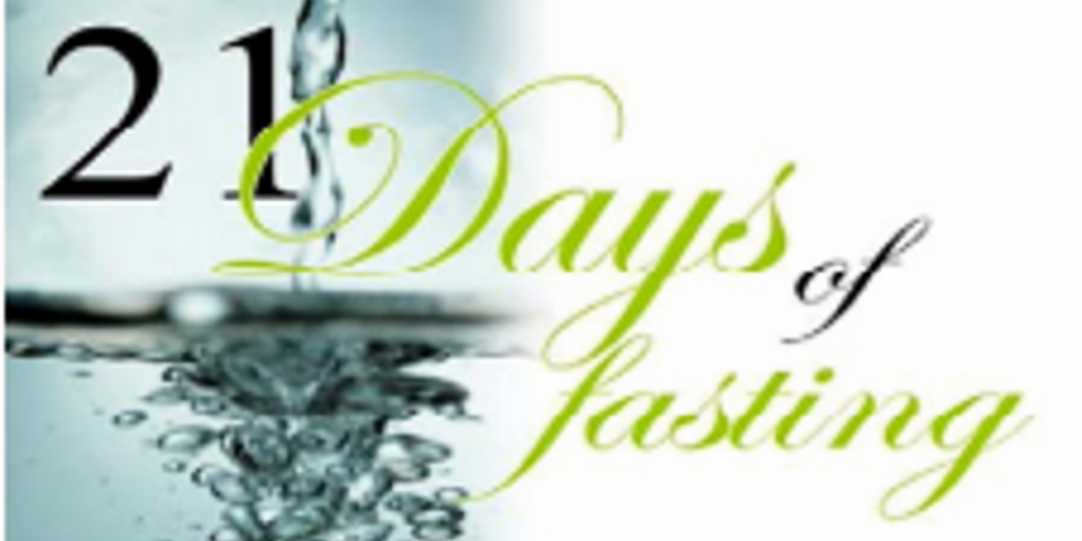 Unity 21 Day Corporate Prayer & Fasting