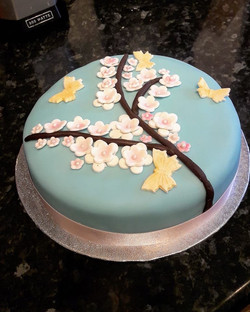 Japanese Blossom Cake