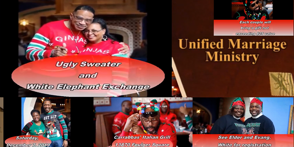 """""""UNIFIED"""" Ugly Sweater Christmas Dinner"""