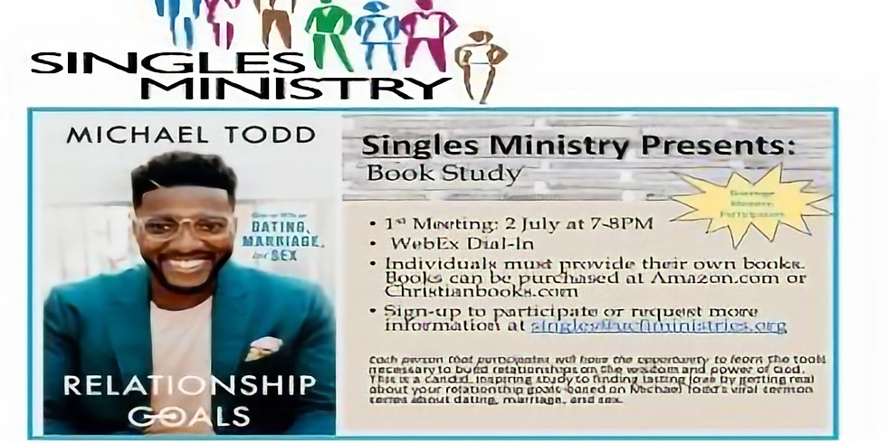 Unity Singles Ministry Book Study
