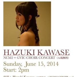 HAZUKI KAWASE LIVE IN LA