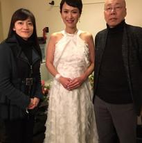 島健さんと島田歌穂さんとがくやで
