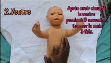 Massage des bebes