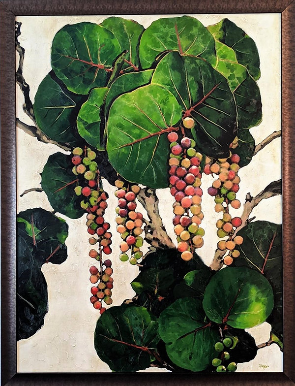 Sea grapes II 36x48.jpg