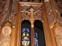 Détail du maître-autel