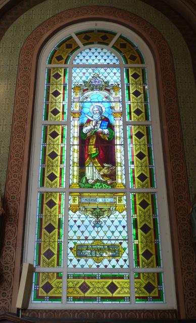 Vitrail de Saint Luc