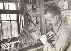 Lauréat Vallière, à l'oeuvre, 1940