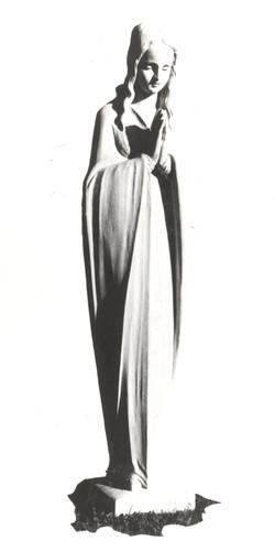 Statuette de la Vierge