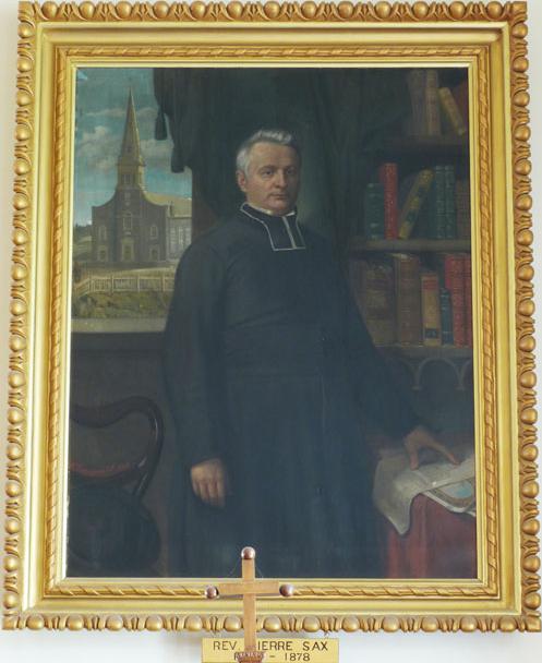 L'abbé Pierre-Télesphore Sax