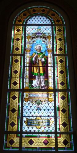 Vitrail de Saint Benjamin